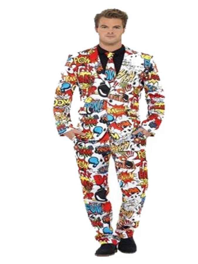 Dare To Be Different Comic Strip Suit