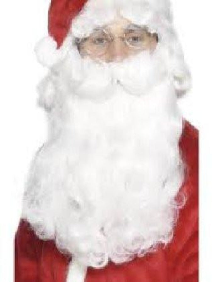 Deluxe Santa Beard And Wig