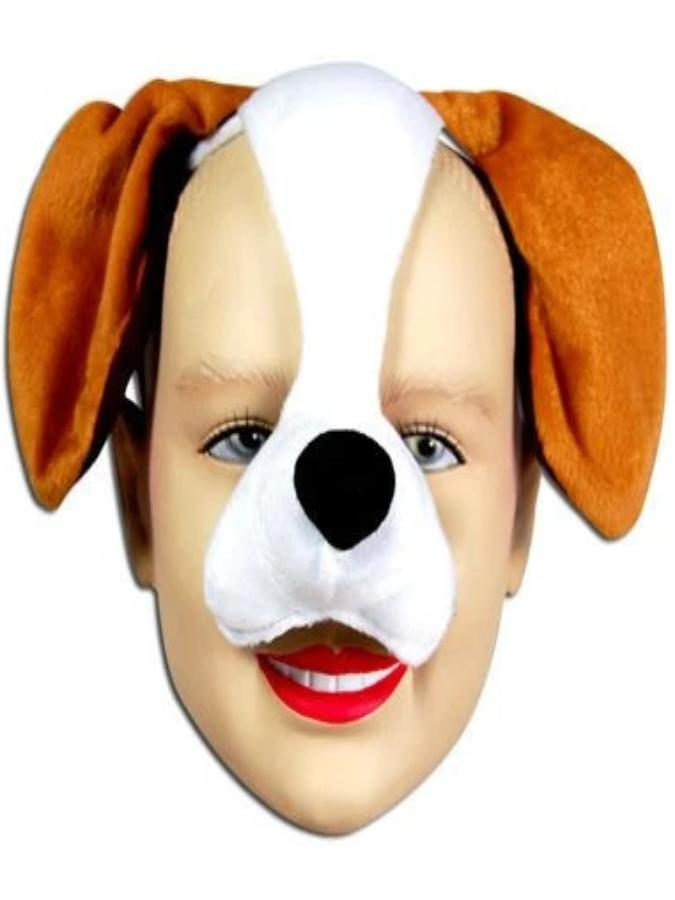 Dog With Sound Mask