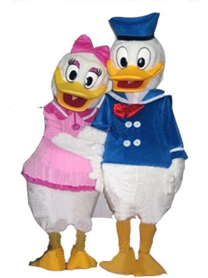 donald and daisy duck look a like costume hire athlone jokeshop