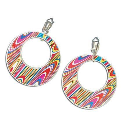 Earrings Mod Swirl