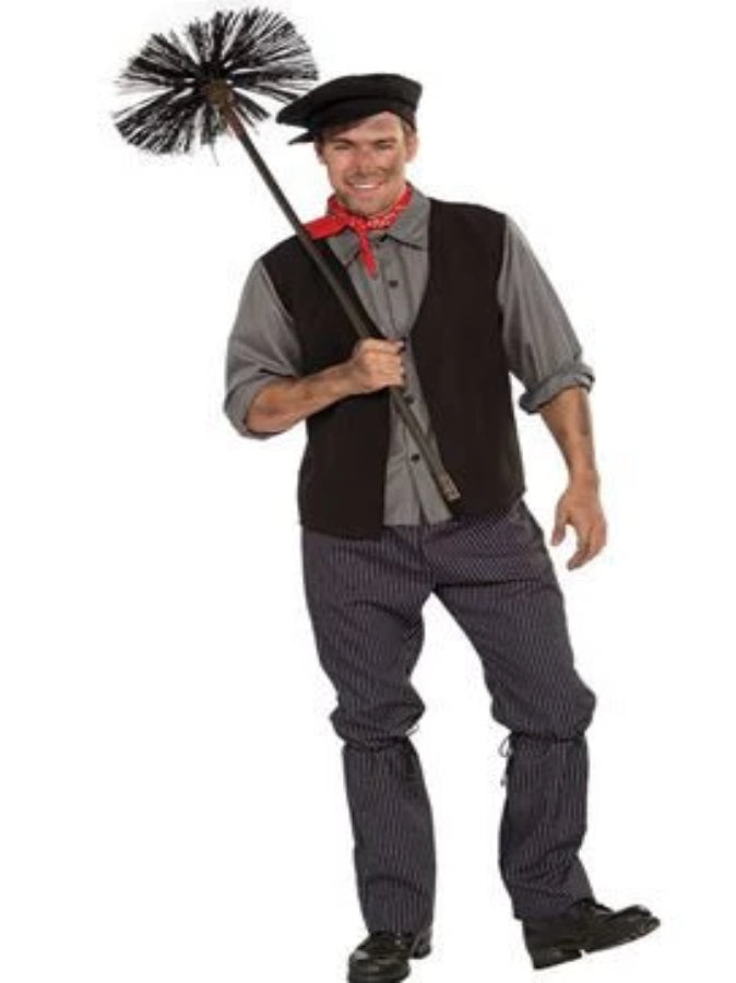 Chimney Sweep Victorian Man