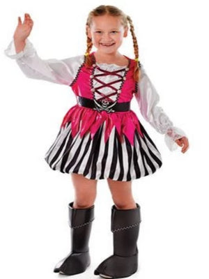 Punky Pirate Children's costume