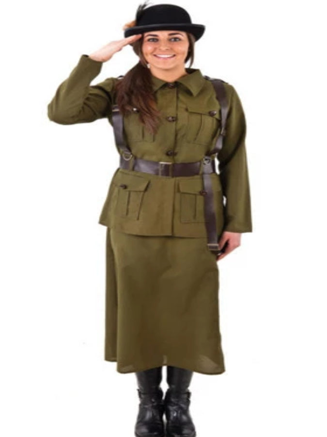 Female Army Volunteer