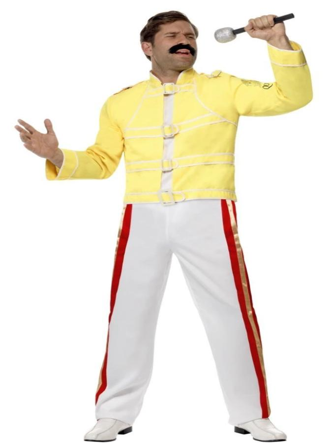 queen freddie mercury costume athlone jokeshop and costume hire queen freddie mercury costume
