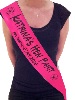 'Friends' Theme Personalised Sash