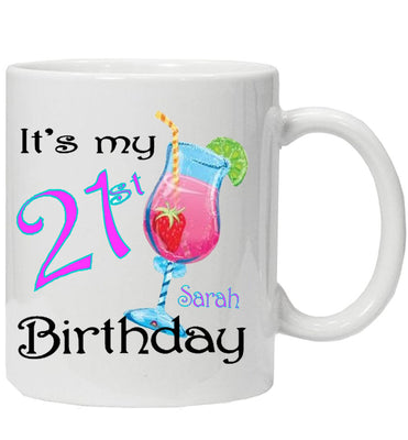 Fun Personalised Birthday Mug