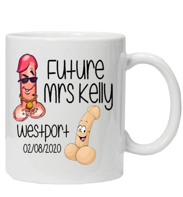 Fun 'Future Mrs' Personalised Mug
