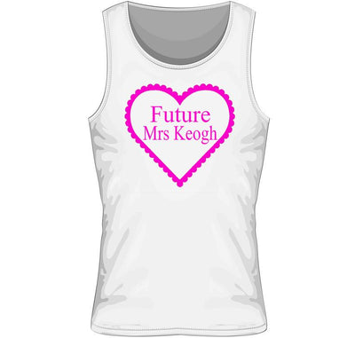 'Future Mrs' Personalised Vest