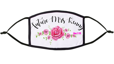 Future Mrs.... Personalised Face Mask