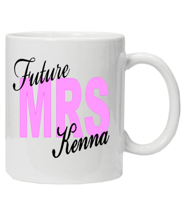 Future 'Mrs' Personalised Mug