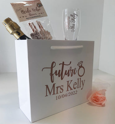 'Future Mrs'  Personalised Deluxe Bag