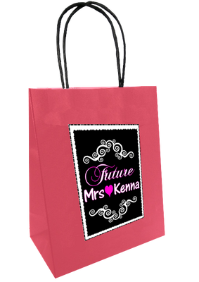 Future Mrs personalised bag