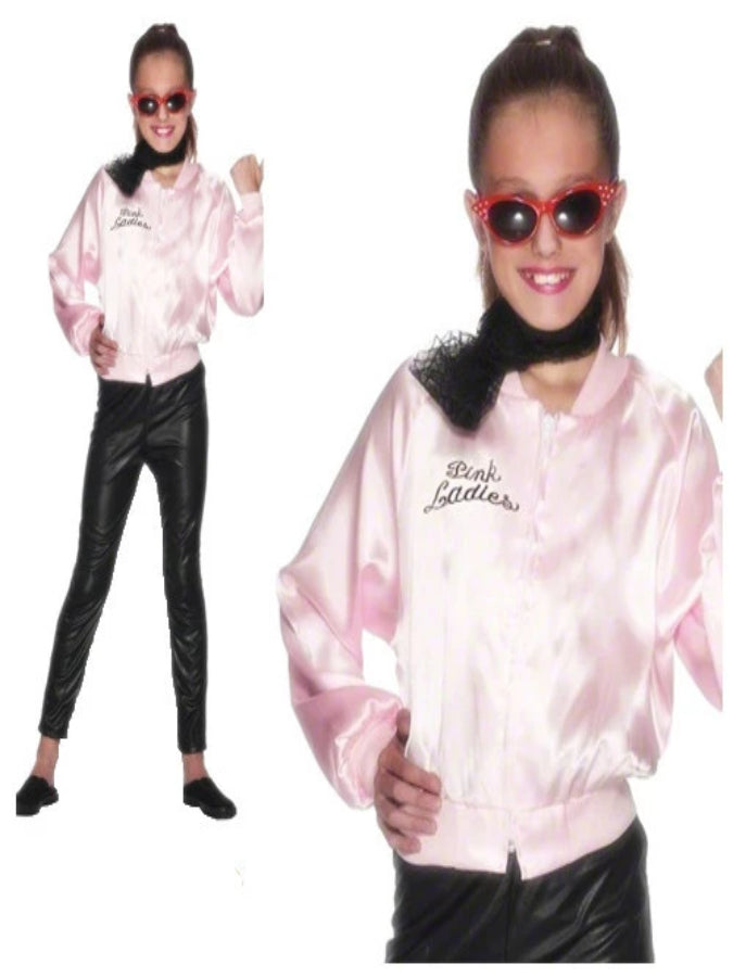 Girls Pink Ladies Jacket