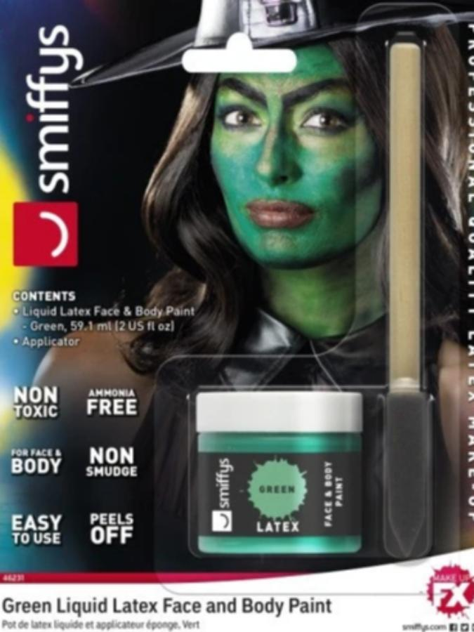 GREEN LIQUID LATEX POT & SPONGE