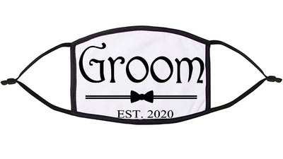 'Groom' Personalised Re-Usable Face Mask