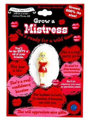 GROW YOUR OWN MISTRESS