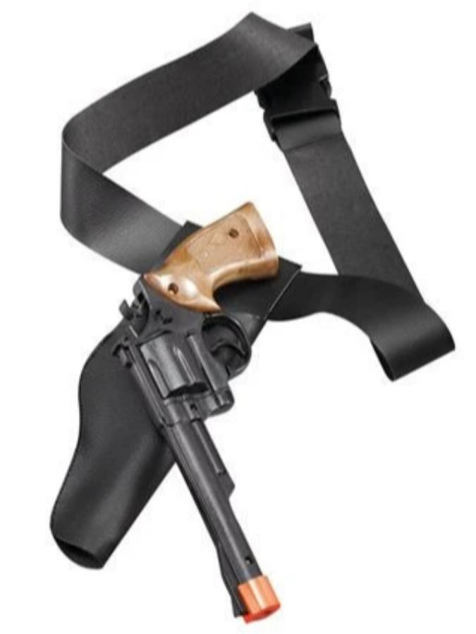 Gun And Holster Cowboy Adult