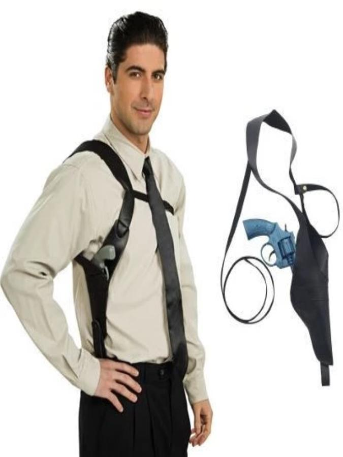 Gun Shoulder And Holster