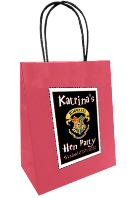 'Harry Potter' Theme Personalised Hen Party Bag