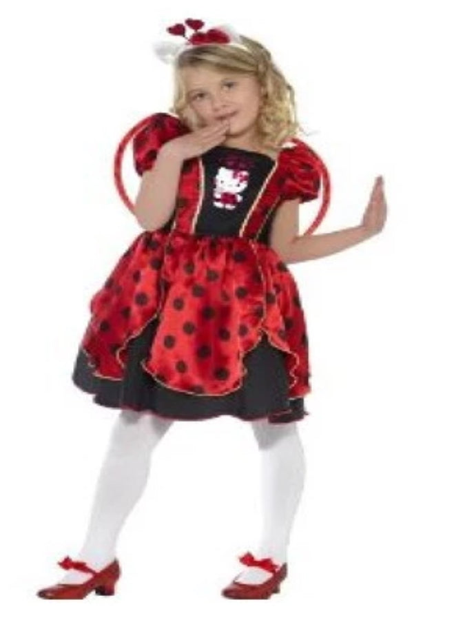 Hello Kitty, Lady bug Fairy Children's costumes