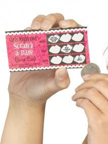 Hen Night Dare Scratch Cards,