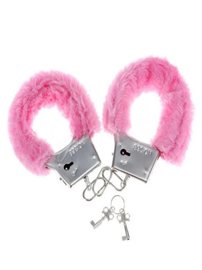 Hen Night Furry Metal Handcuffs