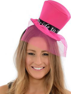 Hen Night Mini Bride To Be Top Hat