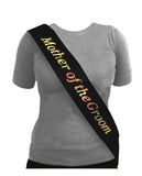 Hen Night Mother Of The Groom Black Sash