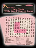 Hen Night Word Search Game