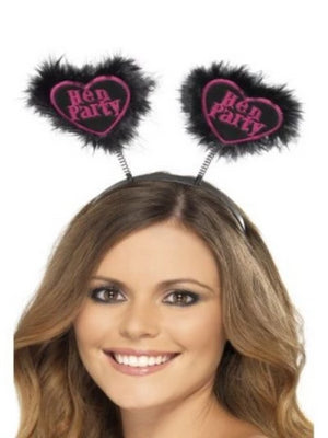 Hen Party Love Heart Bopper