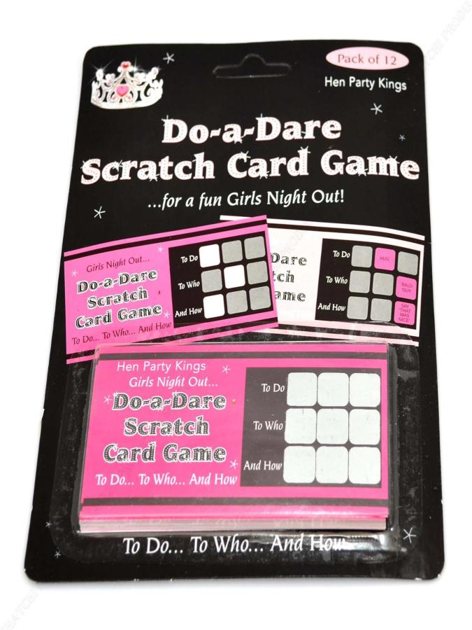 Hen Party Scratch Card