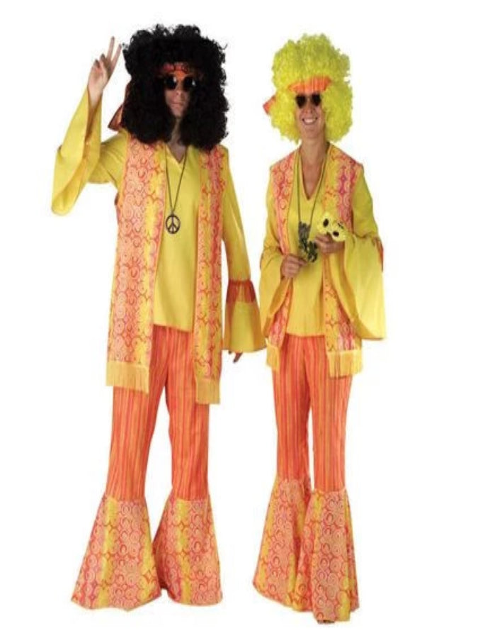 Hippy Orange lady Costume