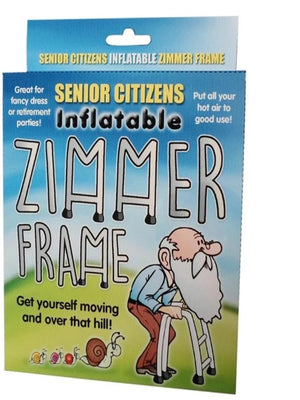 Inflatable Zimmer Frame boxed