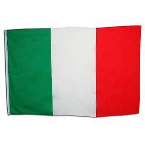 Italian Flag. 3' X 5' Cloth