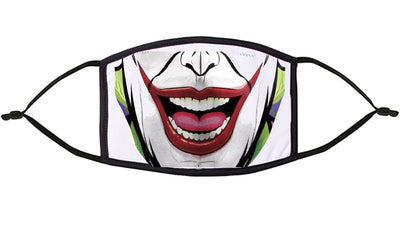 Joker theme Re-Usable Face Mask