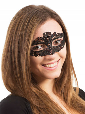 Lace Eye mask Ribbon Tie Slimline