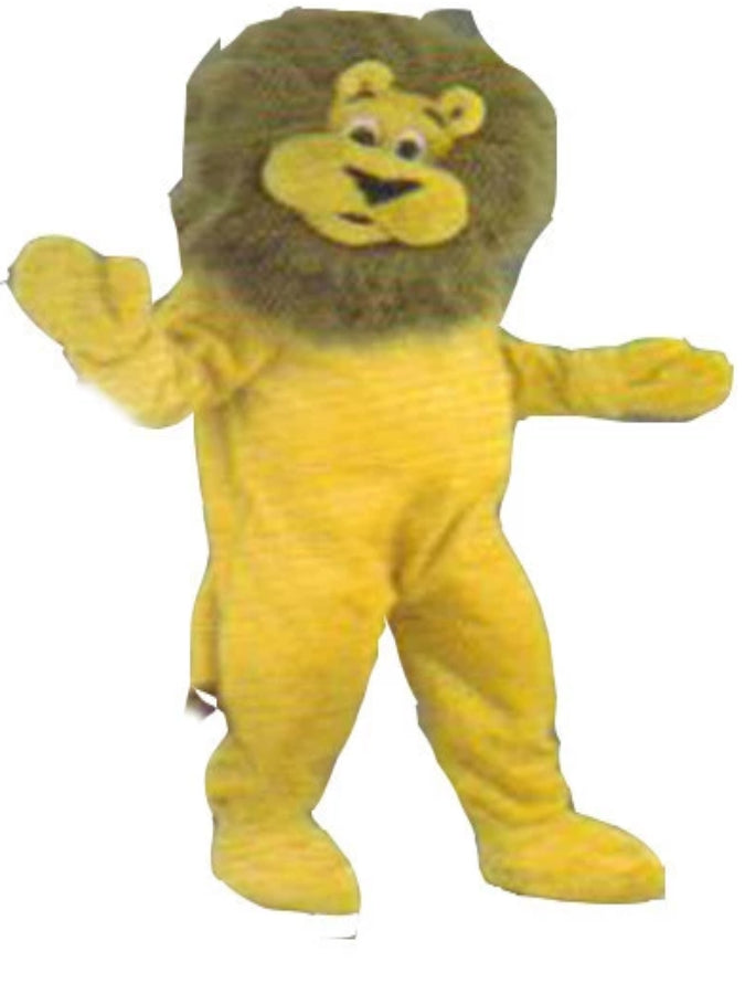 Lion French Mascot Costume Hire