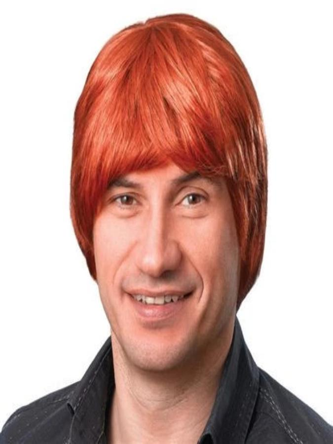 Male ginger wig