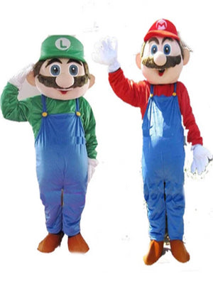 Mario And Luigi look a like Costumes