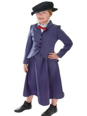 Mary Poppins Nanny childrens Costume