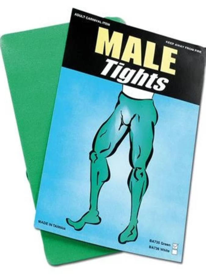 Men Green Tights