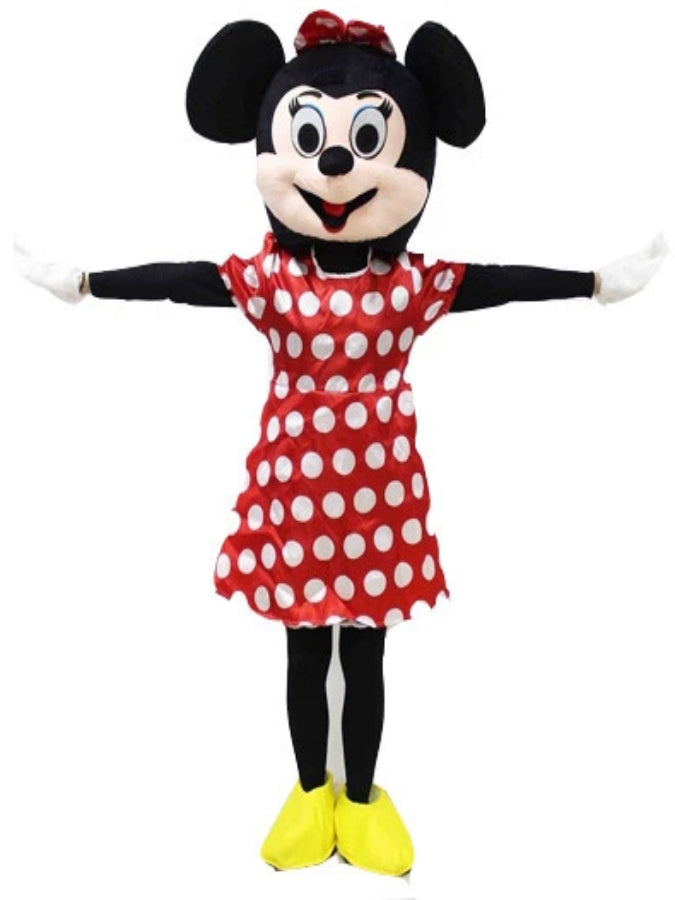 Minnie Mouse look a like  Costume Hire