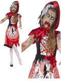 Miss Dead Riding Hood childrens costume