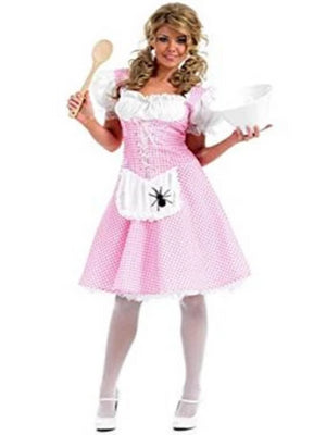Miss Muffett Costume Longer Length Costume