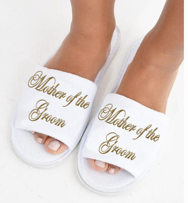 Mother of the Groom Slippers