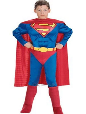 Muscle Chest Superman Children's costume
