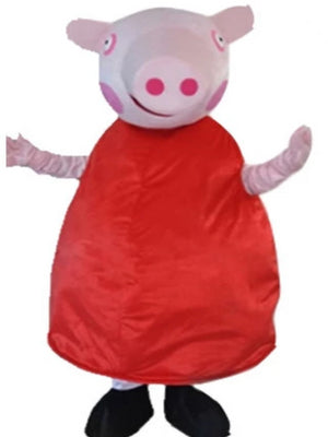 Pepa Pig look a like Mascot Costume Hire