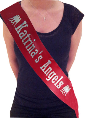 Personalised Angels Design Sash