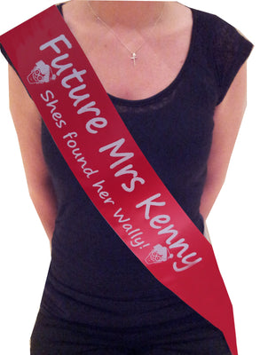 Personalised Where's Wally Sash